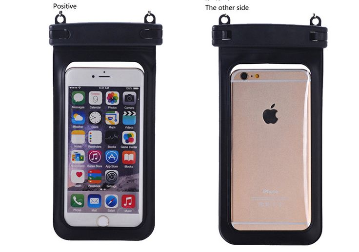 50pcs/l Sealed PVC Waterproof Diving Bag Case Pouch for iPhone 6 6s Plus 5S 5C 5 4S Samsung Galaxy S6/S5/S4/ Samsung Note 4/3/2