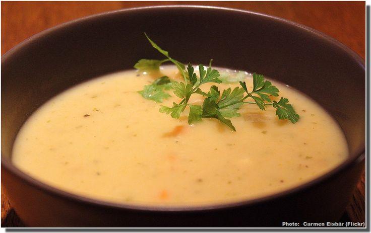 soupe allemande aux pommes de terre