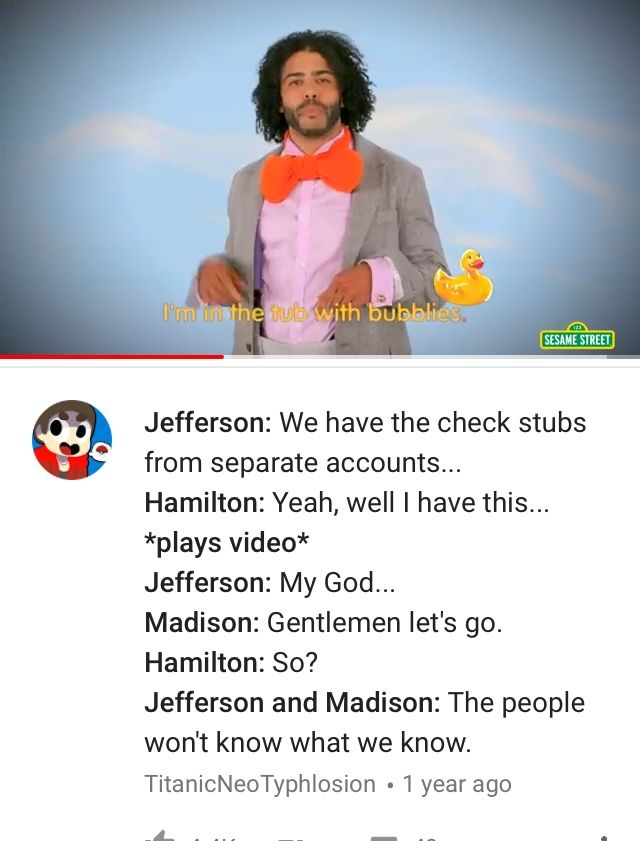 Jefferson: You entitled little bitch