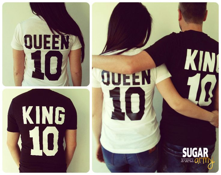 King and Queen shirts, matching couple shirts, king queen shirt, queen king shirts, matching couples, royalty couple shirts, couple jerseys by sugararmy46 on Etsy https://www.etsy.com/listing/244821211/king-and-queen-shirts-matching-couple