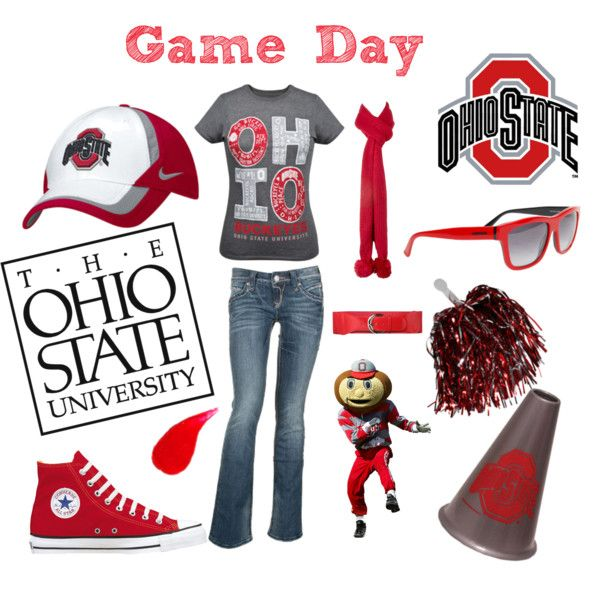 Game Day, created by nikki-lii on Polyvore