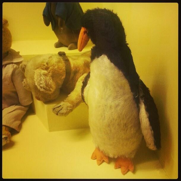 Penguin. Worcestershire County Museum, Hartlebury Castle.