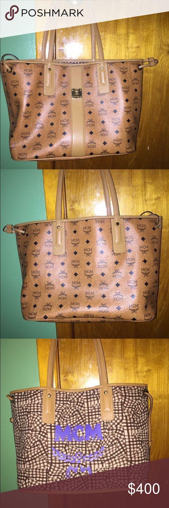 Mcm Liz reversible medium tote In perfect condition MCM Bags Totes