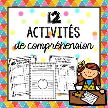 This French Comprehension BUNDLE is packed with activities that your students can use when following up during guided, shared, or independent reading.