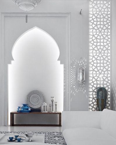 Les 25 meilleures id es de la cat gorie salon marocain sur for Decoration maison islam
