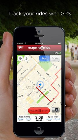 Map My Ride - GPS Cycling, Riding, Workout Tracking and Calorie Counter