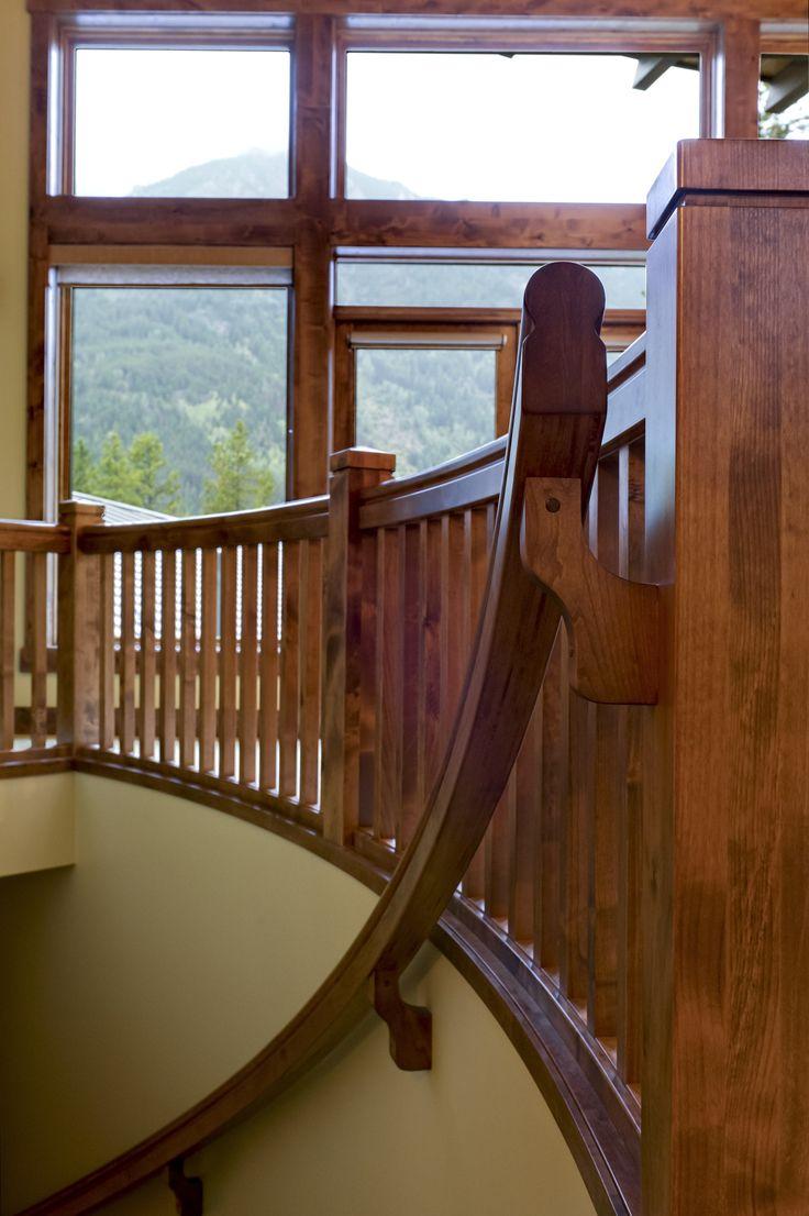 Stair detail  Quiniscoe Homes quiniscoe.ca