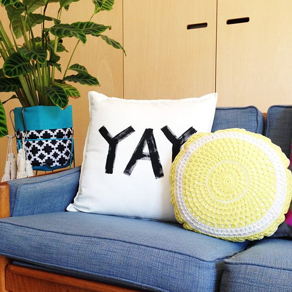 DIY Statement Cushions – Taylor + cloth handmade textiles + homewares