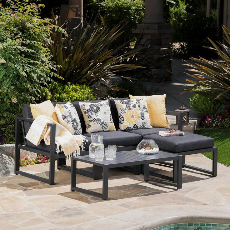 105 dark grey patio furniture ideas