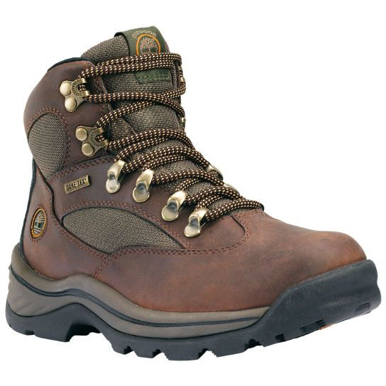 $160 These women's Timberland hiking boots feature Gore-Tex waterproof protection.