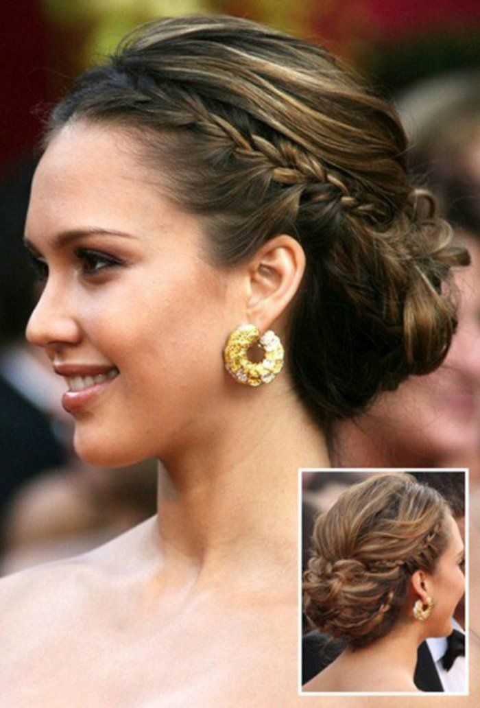 Best 25 chignons ideas on pinterest coiffure chignon chignon bas and coiffure facile - Coiffure chignon facile ...