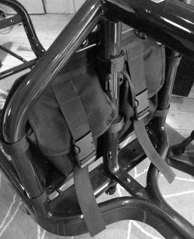 Bullitt bike frame pockets