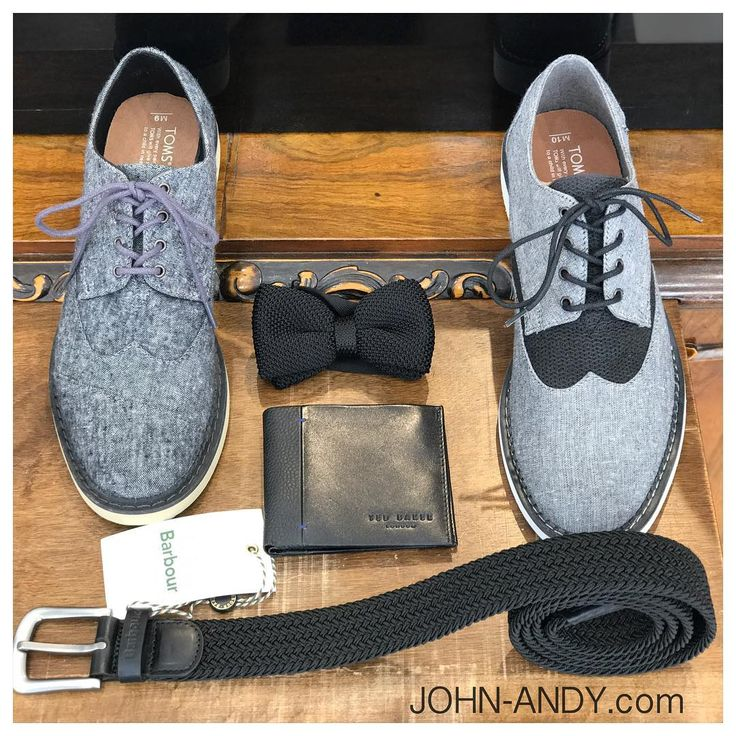 #johnandy #menswear #toms #shoes #tedbaker #leather #wallet #bowtie #black #barbour #belt #00302109703888