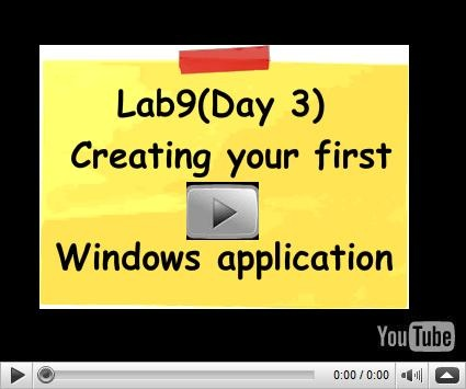 In this modern world nobody like dark screens of console applications. In this video we will create windows application which give you the great UI feel of windows.  Visit us for c# training at http://www.questpond.com