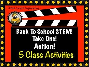 Back to School STEM: Take One! Lights! Cameras! Action!Five quick STEM activities for your classroom.We think starting the school year is a bit like starting an action film. You hit the ground running and the action keeps up the entire week with barely time to breathe!