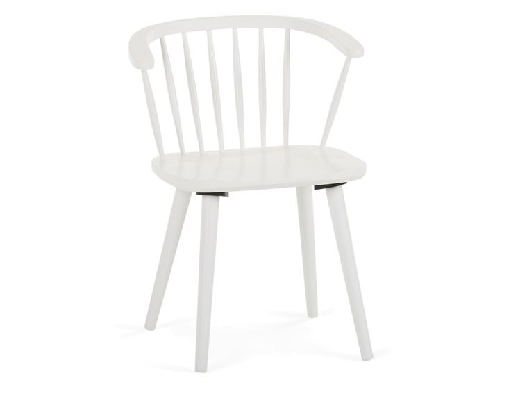 WINDY - Dining chair - White