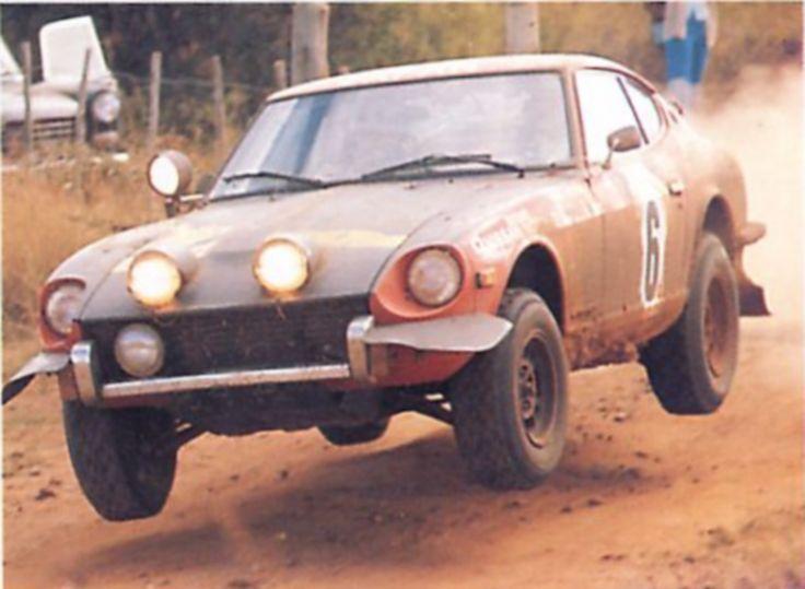 1973 East African Safari Rally, Aaltonen/Easter - Datsun 240Z