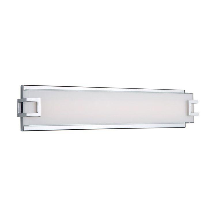"""23"""" Modern Bar LED Vanity Light chrome"""