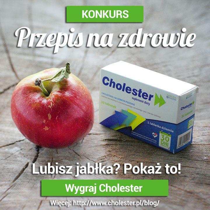 Lubisz jabłka? Pokaż to! Wygraj Cholester :) Więcej: http://www.cholester.pl/blog/lubisz-jablka-wygraj-cholester.html #konkursy #zdrowie #cholesterol