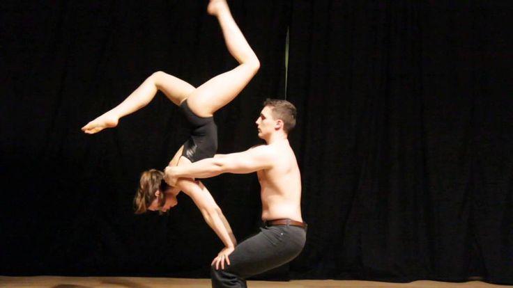 Jenna and Shaun Partner Acrobatics