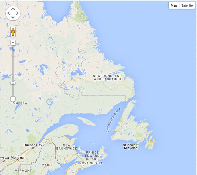 Web Site Map: 33 Best Images About Research Newfoundland On Pinterest