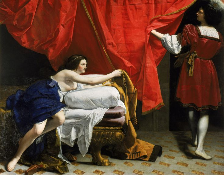 The Art of Italy in the Royal Collection - The Baroque: Joseph and Potiphar's Wife, ca. 1630-32