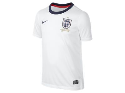 2013/14 England Replica (8y-15y) Boys' Football Shirt