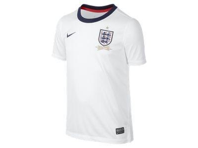 2013/14 England Replica (8y-15y) Boys' Football Shirt