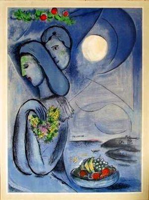 saint jean cap ferrat -1952 | Artist: Chagall | Pinterest ... Chagall Ferrat