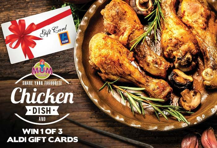 For fresh, quality cuts, don't go past the ALDI chicken range, all with no added hormones. Plus, here's your chance to score and ALDI gift card!