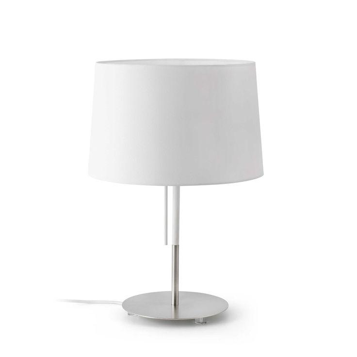 Lámpara de Mesa diseño clásico blanca #decoracion #iluminacion #interiorismo #diseño #lamparas #lamparasmesa #lamparasbonitas