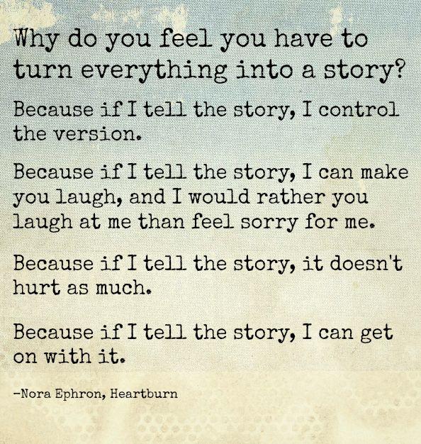 I love Nora Ephron.