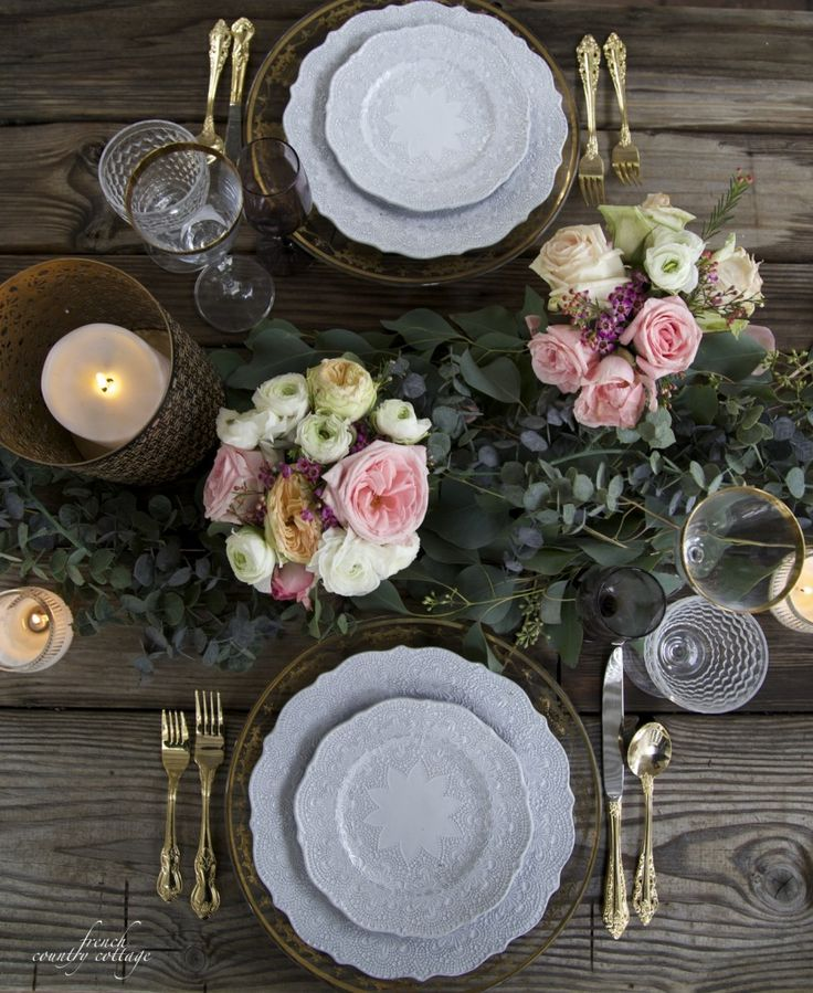 37 Best Images About Table Settings On Pinterest Head
