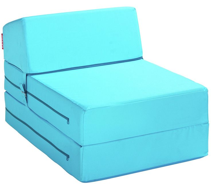 Buy ColourMatch Single Chairbed - Crystal Blue at Argos.co.uk, visit Argos.co.uk to shop online for Sofa beds, chairbeds and futons, Living room furniture, Home and garden