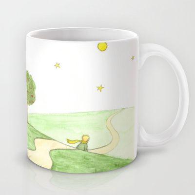 """""""Le Petit Prince (Antoine de Saint-Exupéry)"""" Mug by Savousepate - $15.00"""