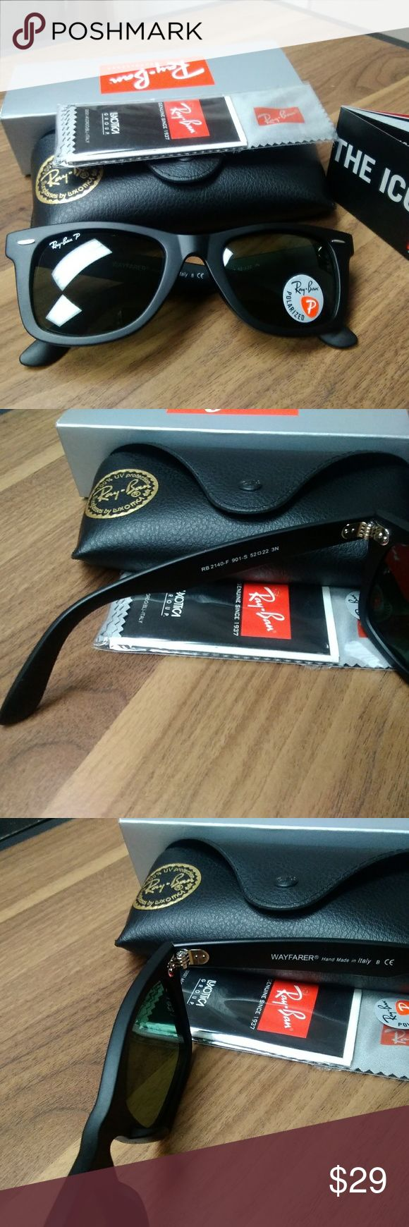 Polarized Ray-Ban Wayfarer sunglass.make good gift Polarized Ray-Ban Wayfarer sunglass.make good gift,will ship in time for Christmas, comes with package. Ray-Ban Accessories Sunglasses