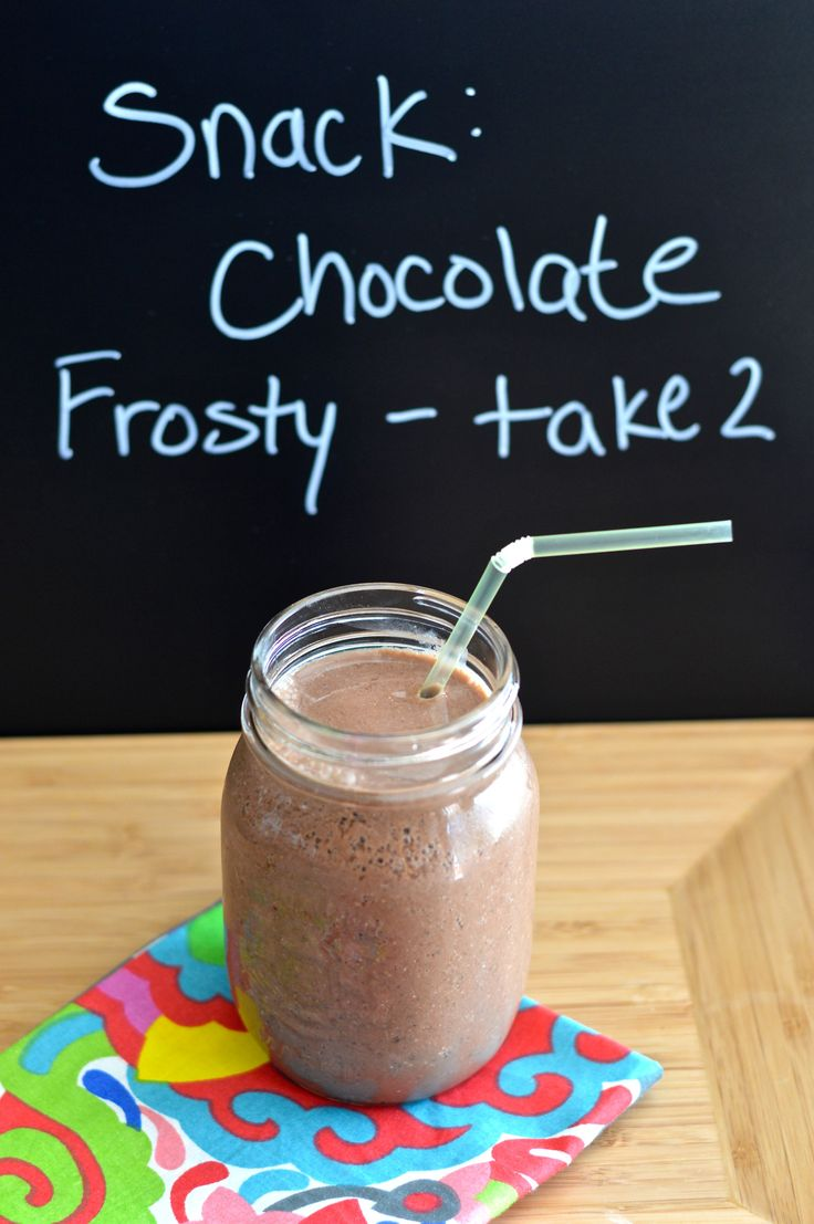 Chocolate frosty. 194 kcal. Month 5 - week 3.
