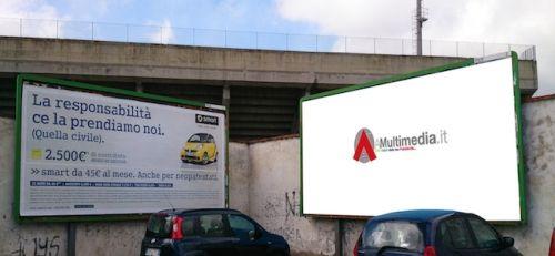 AmultimediA: Affissioni, la tua pubblicità sempre in primo piano.