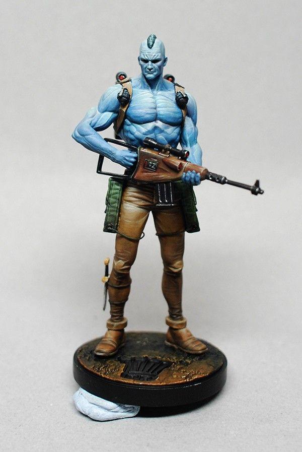 Dark World Creations: 2000AD - Rogue Trooper detail