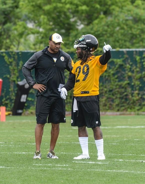 Shamarko Thomas, Carnell Lake, Steelers 2015 OTAs