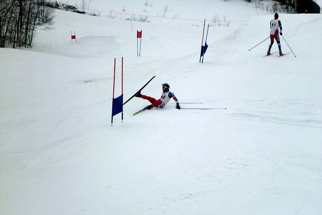 Hitting the Slopes One Last Time - Race report from a crazy, late-season ski race I did... downhill skiing, on classic skis!
