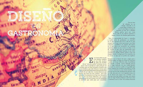 Revista Tráfago on Behance