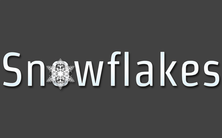 Snowflakes Logo 2 From our website.