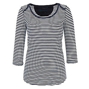 Love stripes, especially navy and white ones