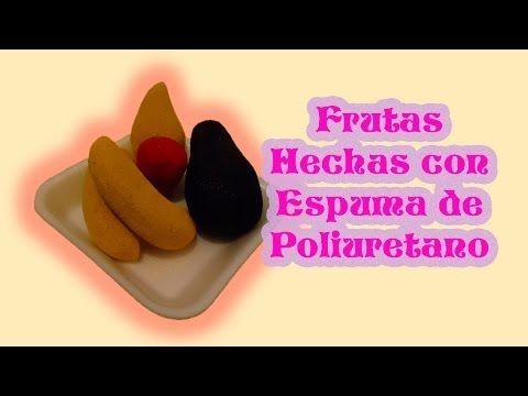 DIY | Frutas de Espuma de poliuretano