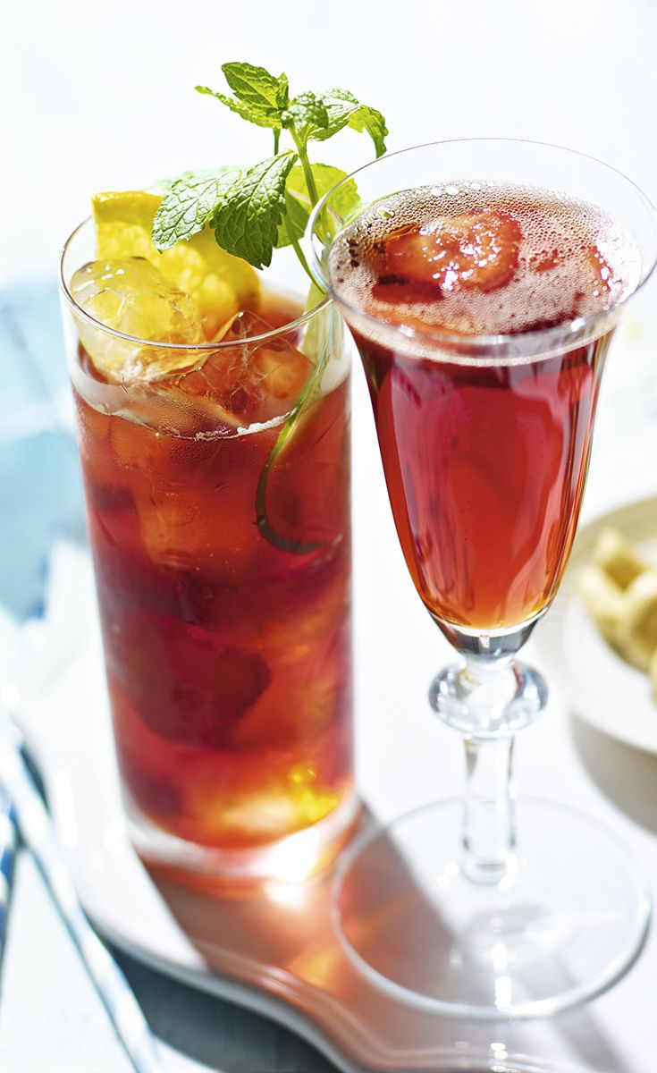 Summer BBQ  A barbecue isn't complete without a refreshing glass of Pimm's. Why not try our delicious recipe for Strawberry Pimm's – a tasty twist on the classic recipe.