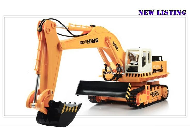 Wireless remote control toy car large engineering vehicles digging machine truck RC contruction toy excavator-in RC Cars from Toys & Hobbies on Aliexpress.com | Alibaba Group