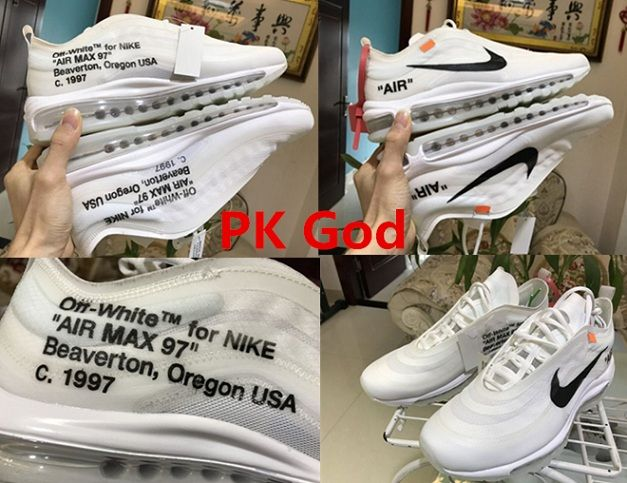 OFF White x Nike Air Max 97 sneakers cheapest pk god