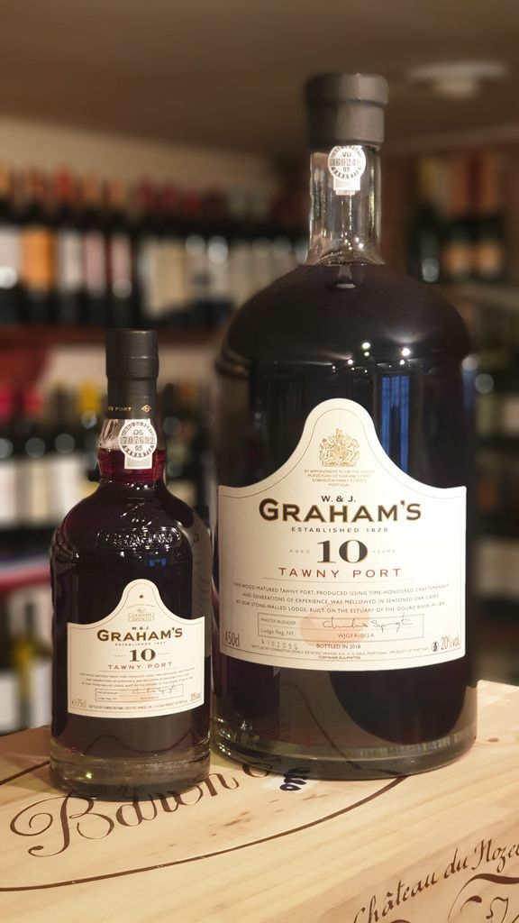 Grahams 10 Year Old Tawny Port 4 5l Fareham Wine Cellar In 2020 Port Wine Tawny 10 Year Old