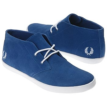 Fred Perry Blue Shoes